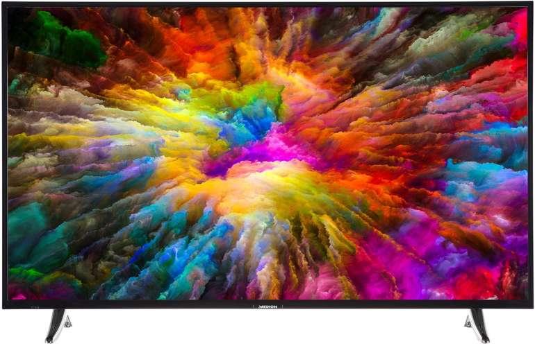 """Medion LIFE X14040 - 40"""" Ultra HD Smart-TV mit HD Triple Tuner & CI+ für 272,94€"""