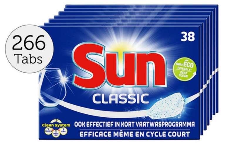 266er Pack Sun Classic Geschirrspültabs für 22,90€ inkl. Versand (statt 30€)
