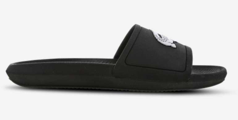 Lacoste Croco Slide 119 in Schwarz für 19,99€inkl. Versand (statt 30€) - MBW: 29,99€
