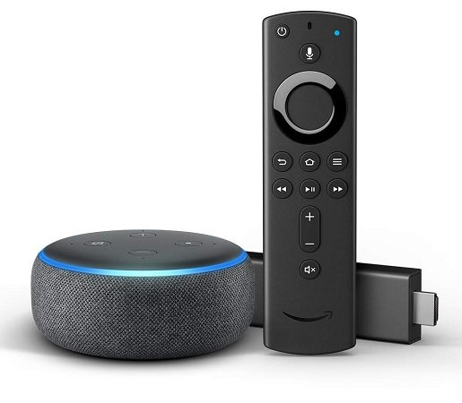 Amazon Fire TV Stick + Echo Dot (3. Generation) für 49,99€ (statt 80,50€)