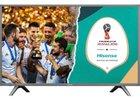 """Hisense H43NEC5605 – 43"""" Ultra-HD (4k) Smart-TV mit Triple Tuner für 279,90€"""