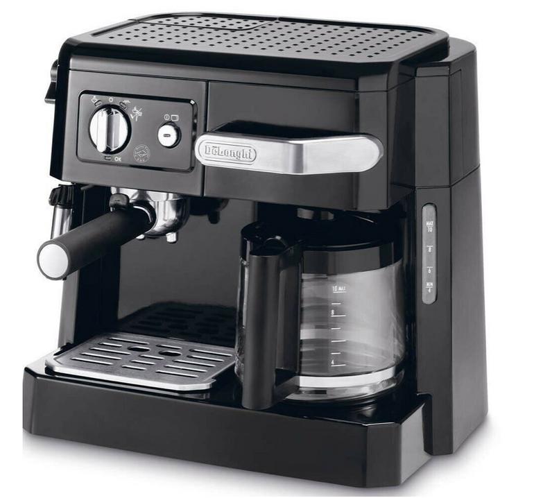 DeLonghi BCO410 Kombi Espresso- und Kaffeemaschine für 89,90€ (statt 106€)