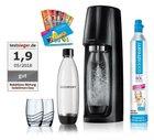 Sodastream Easy + 2 Flaschen, 2 Gläser, Proben und CO2 Zylinder für 47,99€ inkl. Versand (statt 62€)