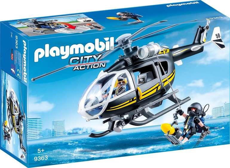 Playmobil (9363) City Action - SEK Helikopter für 18,95€ inkl. VSK (statt 25€)