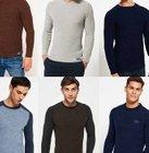 Neue Herren Superdry Pullover - verschiedene Modelle & Farben für je 19,96€