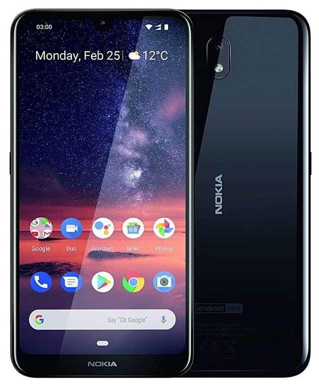 "Nokia 3.2 - 6,2"" Android 9 Smartphone (2GB RAM, 16GB ROM, Dual-SIM, 4000mah) für 79€"