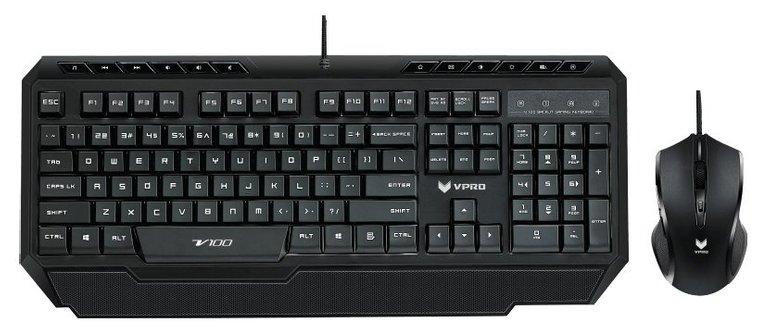 Rapoo VPRO V100 Tastatur und Maus Set für 25€ inkl. Versand (statt 40€)