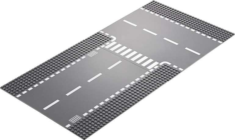 LEGO City 60236 Straßenplatte - Gerade und T-Kreuzung für 6,50€ mit Prime Versand (statt 10€)