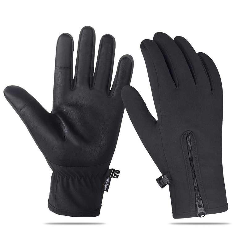 Unigear wasserdichte & rutschfeste Touchscreen Handschuhe für 4,79€ inkl. Prime Versand (statt 8€)