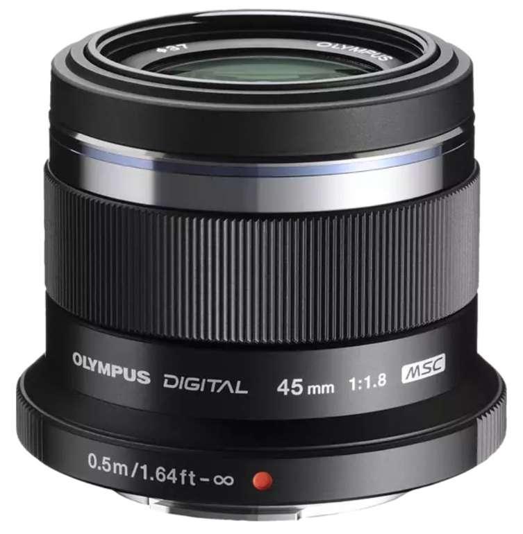 Olympus Pen M Zuiko Digital 45mm 1:1.8 45 mm - 45 mm f/1.8 (Objektiv für Micro-Four-Thirds) für 165,99€