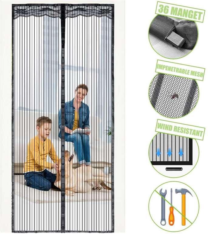 Safetyon Magnet Fliegengitter in zwei Größen für je 7,99€ inkl. Prime Versand (statt 11€)