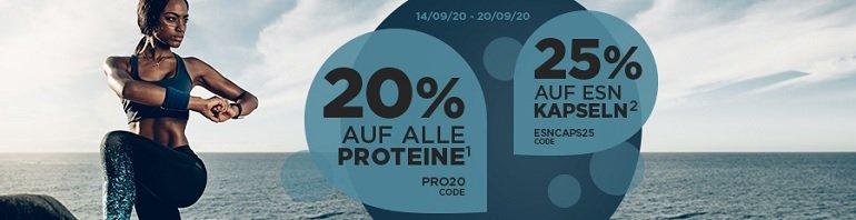 Fitmart 20% Rabatt auf alle Proteine