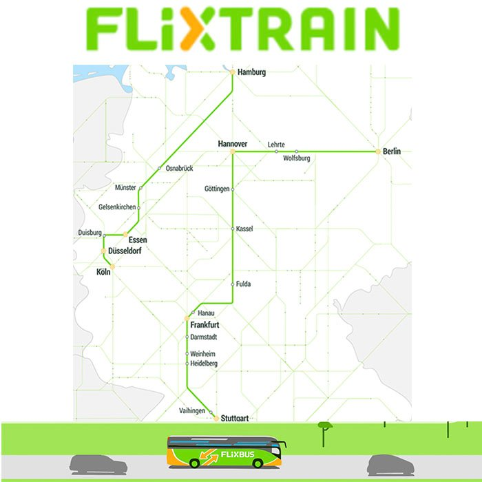 News: FlixTrain ab 24. März - Konkurrenz für die Deutsche Bahn?