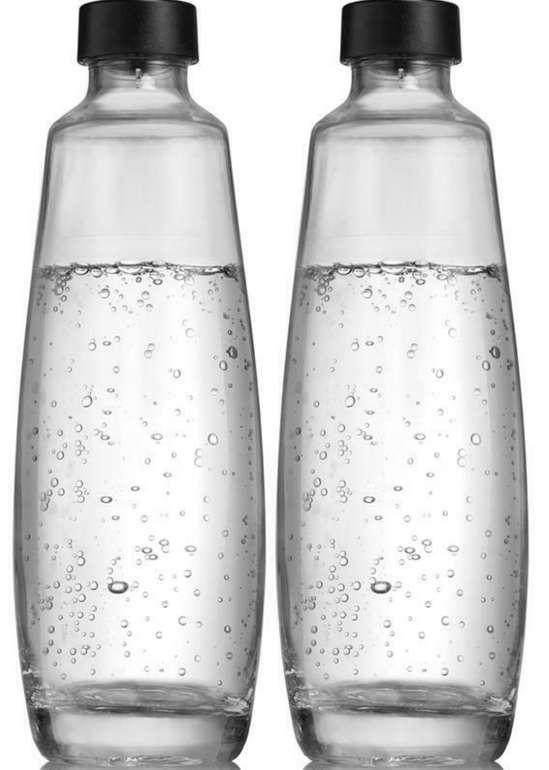 2er Pack SodaStream DUO-Glasflaschen (1 Liter) für 20,91€ inkl. Versand (statt 25€)