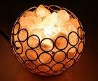 Zanbase - Salzkristall Nachttischlampe für 15,59€ mit Prime