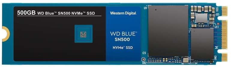 WD Blue™ SN500 NVMe™ 500 GB SSD Festplatte für 59€ (statt 74€)
