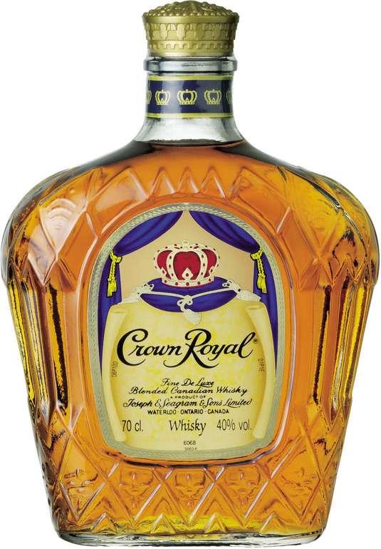 Crown Royal Whisky 40% Vol. 0.7 Liter für 16,19€ (statt 21€)