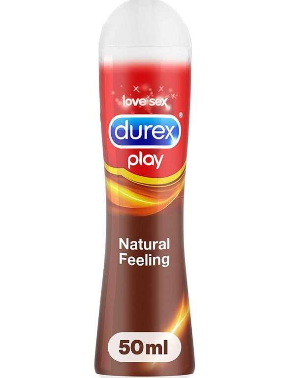 2x Durex Natural Feeling Gleit- & Erlebnisgel (50ml) für 2,98€ zzgl. Versand (statt 14€)