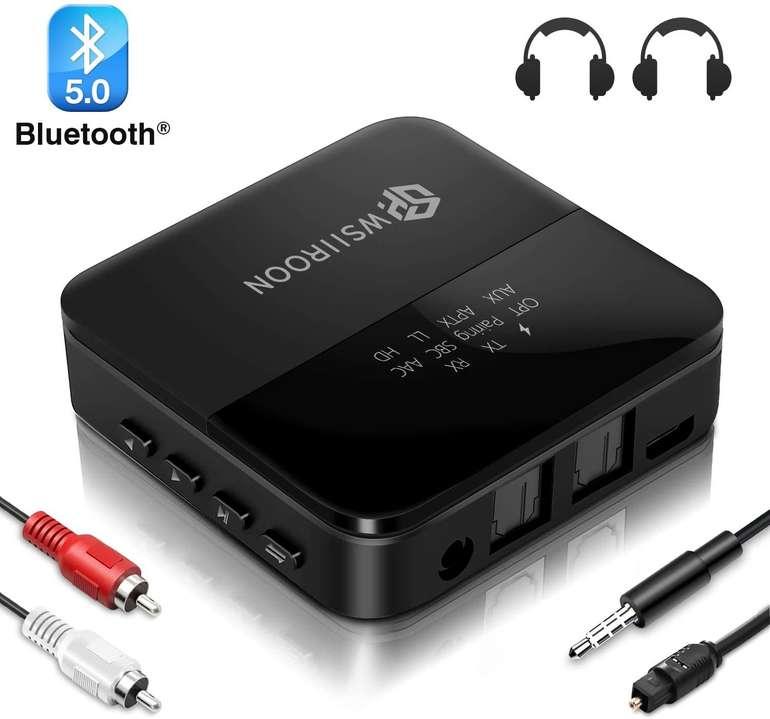 Wsiiroon Bluetooth 5.0 Adapter für 22,19€ inkl. Versand (statt 37€)