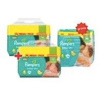 10% Rabatt auf Pampers Mega Packs - z.B. 224 Baby Dry Windeln für 40,86€