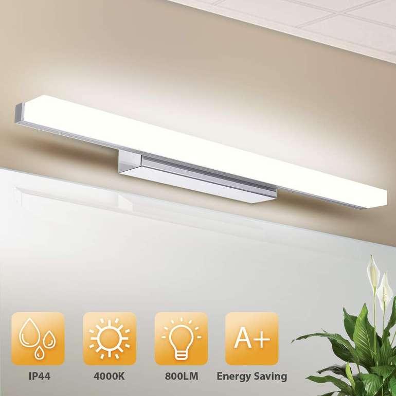 Kingso - 12W LED Spiegelleuchte (50 cm, IP44) für 20,99€ inkl. Prime VSK
