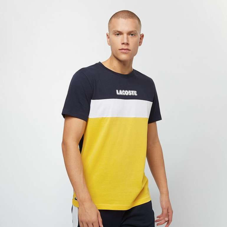 Lacoste Colourblocks Herren T-Shirt für 31,99€ inkl. Versand (statt 37€)