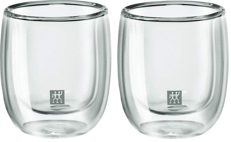 2er Set Zwilling Sorrento Espressogläser (80ml, doppelwandig) für 11,95€ (statt 22€)