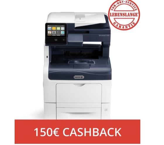 Xerox VersaLink C405DN Farblaser-Multifunktionsdrucker ab 450€ + 150€ Cashback