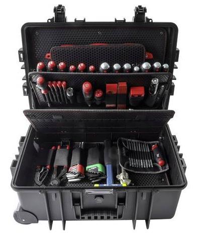 Wiha Case Industrial XXL Handwerker Werkzeugset mit Rollen (102-teilig) für 759€ inkl. Versand (statt 1044€)