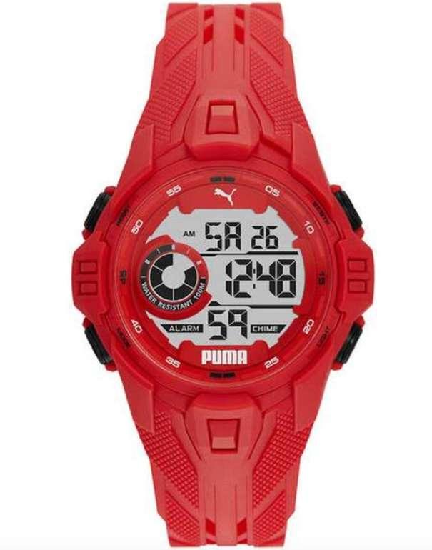Puma Bold Armbanduhr in Rot für 5€ inkl. Versand (statt 30€)