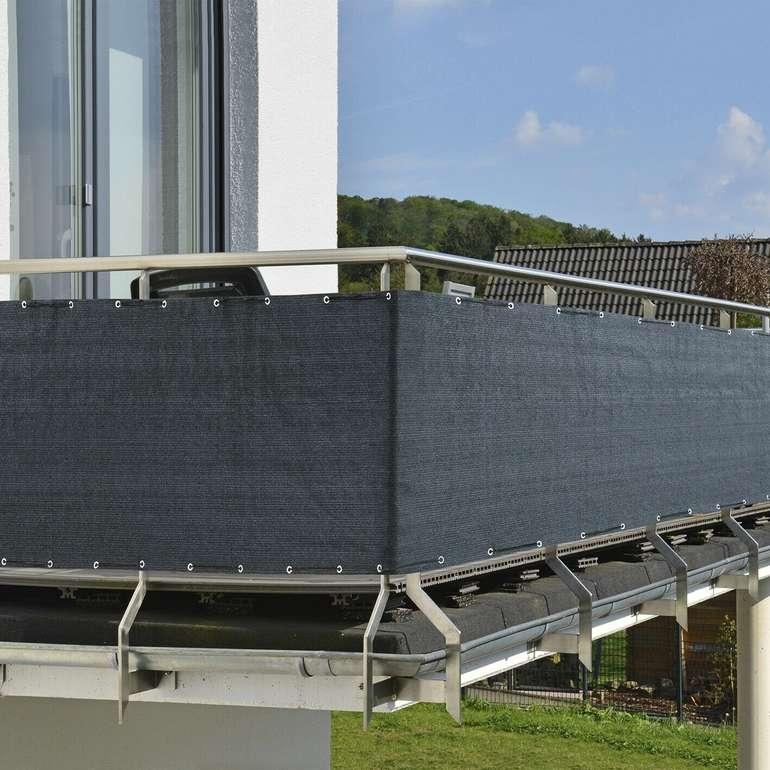 Prima Garden Balkon Sicht- und Windschutz 500x90cm für 19,90€ inkl. Versand (statt 25€)