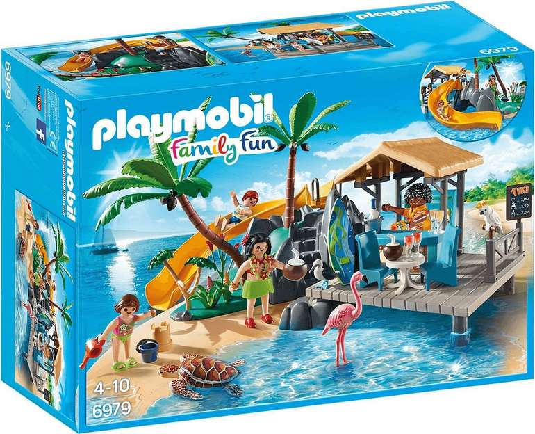Playmobil Family Fun - Karibikinsel mit Strandbar (6979) für 19,85€ inkl. Versand (statt 24€)
