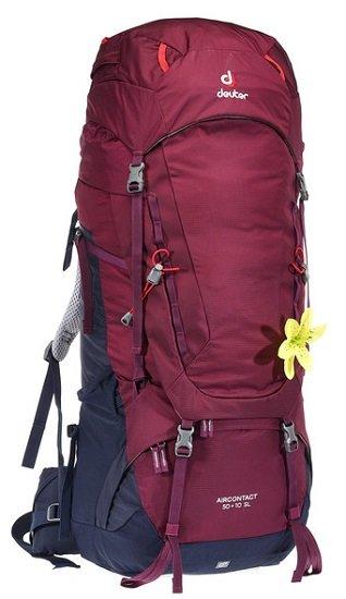 Deuter AIRCONTACT 50 + 10 SL Damen Trekkingrucksack für 114,98€ (statt 138€)