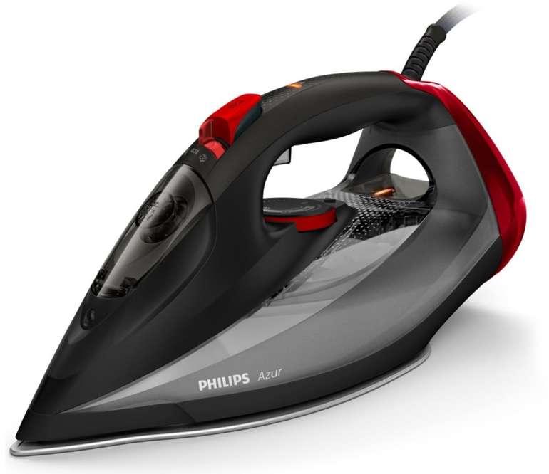 Philips GC4567/80 Dampfbügeleisen Azur (2600 W, 250g Dampfstoß, SteamGlide Advanced) für 34,19€