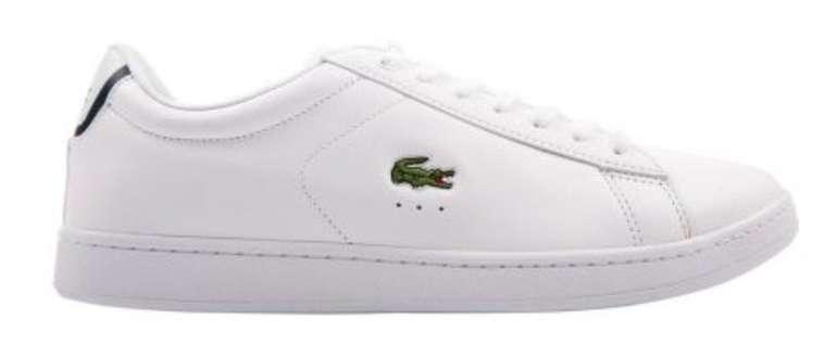 Lacoste Carnaby Evo, Graduate und Masters Sneaker für je 59,90€ inkl. Versand (statt 70€)