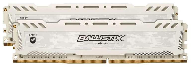 Ballistix Sport LT 16 GB (2 x 8 GB) Kit 3000 für 59€ (statt 76€)