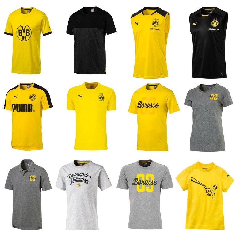 Puma Borussia  Dortmund Fan-Shirts für 15€ inkl. Versand (statt 20€)
