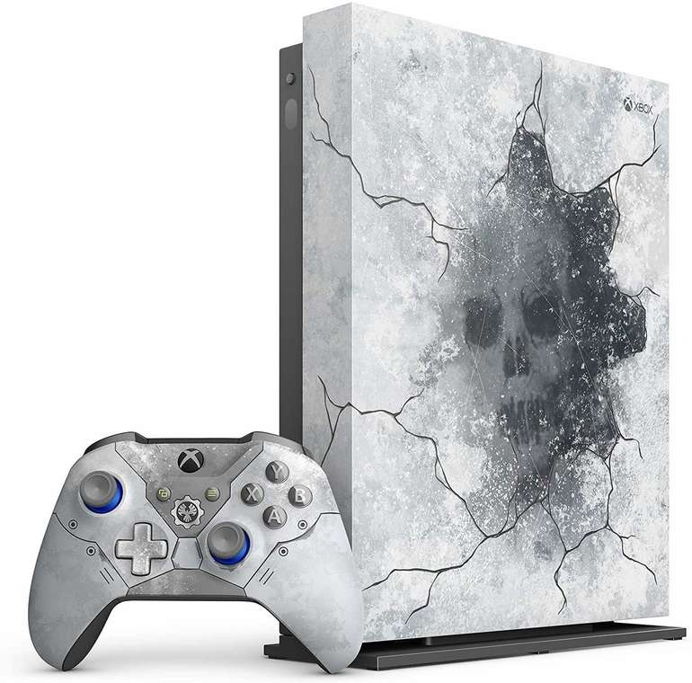 Microsoft Xbox One X 1TB Gears 5 Limited Edition Bundle für 362,87€ inkl. VSK