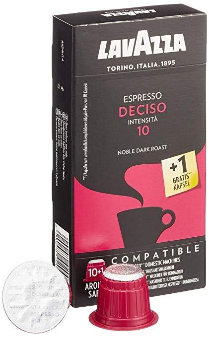 5x Lavazza Espresso Deciso 10+1 Kapseln (kompatibel zu Nespresso) für 10,07€