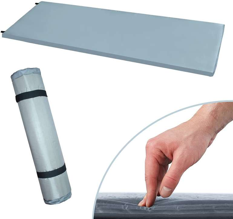 BMOT Selbstaufblasende Luftmatratze (190x60x3cm) für 16,09€ inkl. Versand (statt 23€)