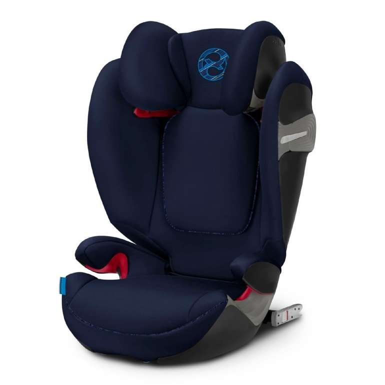 Cybex Gold Kindersitz Solution S-Fix in Indigo Blue / Pink für 123,99€ inkl. Versand (statt 181€)