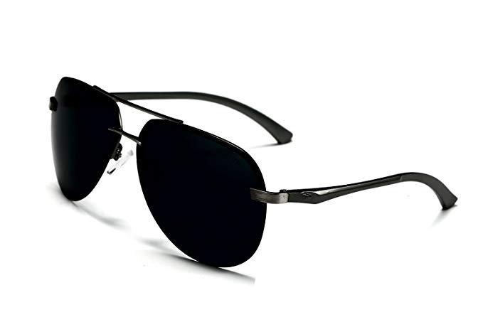 Aoron Herren Sonnenbrille (polarisiert, 6,4 cm Glasbreite) für 8,99€ inkl. Prime Versand (statt 19€)
