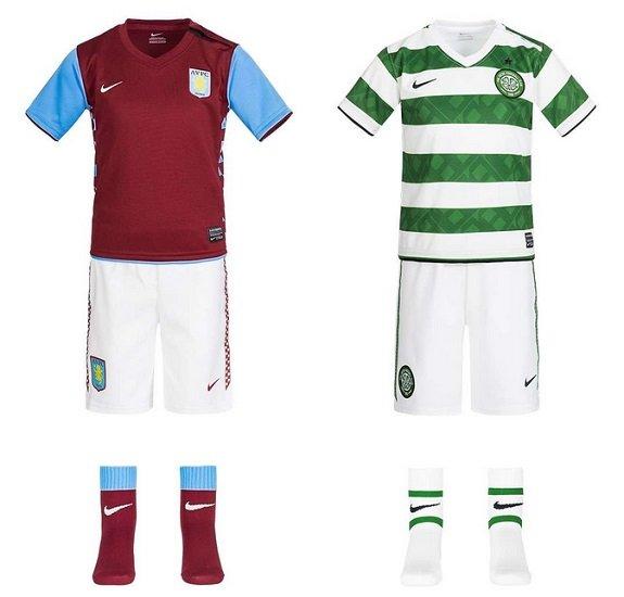 Verschiedene Nike Baby Trikotsätze reduziert - z.B. Aston Villa für 7,77€ zzgl. Versand