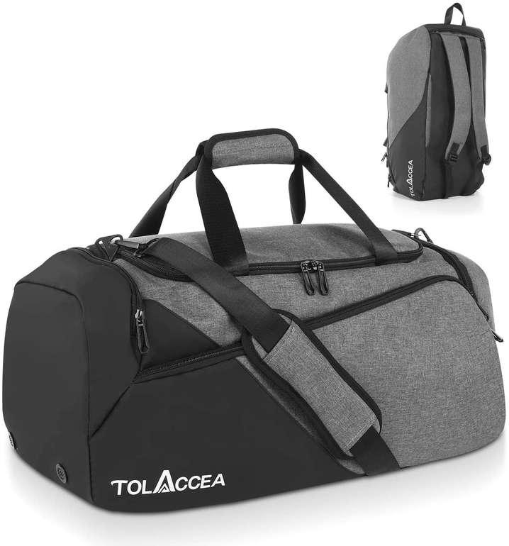 Tolaccea 47 Liter Sport- bzw. Reisetasche mit Schuhfach für 19,99€ inkl. Versand (statt 40€)
