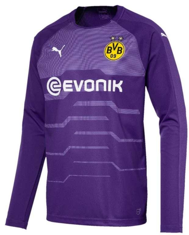 Puma BVB Borussia Dortmund Herren Torwart Trikot LS Jersey 18/19 für 14,09€ (statt 56€)