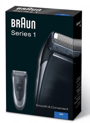 Elektrorasierer Braun Series 1 190s-1 für 29,90€ inkl. Versand (statt 34€)