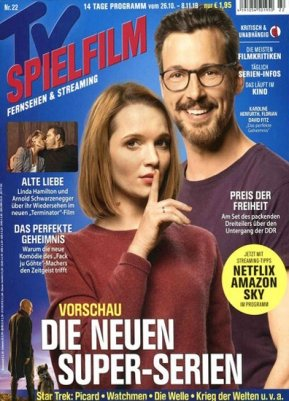 """Schnupperabo: 4 Monate """"TV Spielfilm"""" für 13,80€ + 15€ Verrechnungsscheck"""