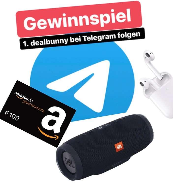 Telegram Gewinnspiel: dealbunny.de Channel folgen und viele tolle Preise gewinnen