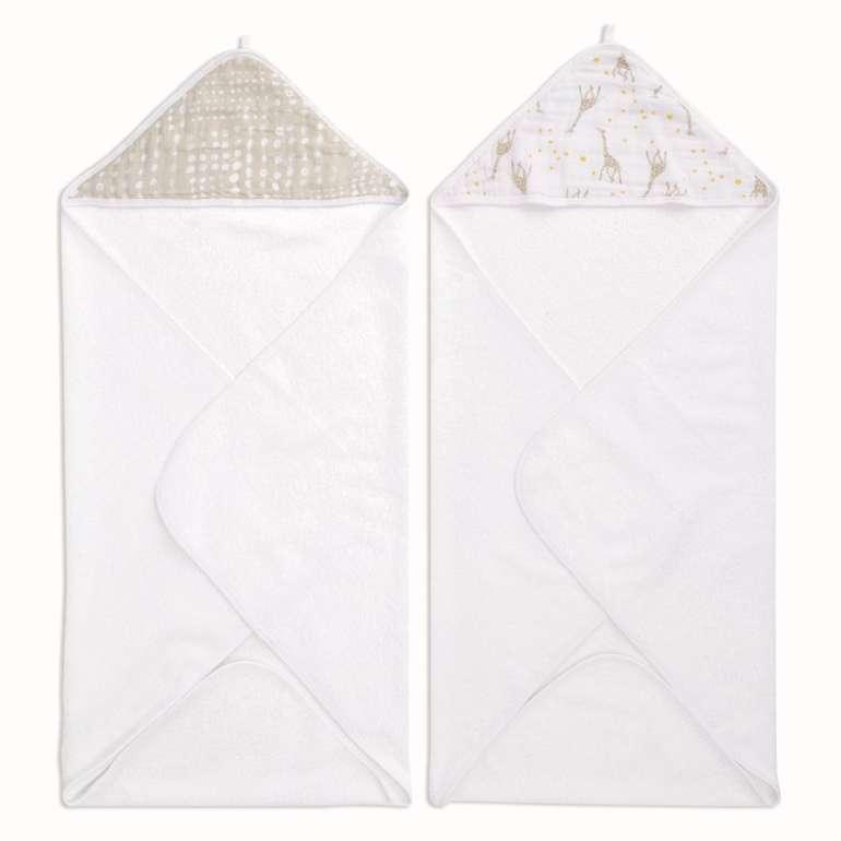 Aden Kapuzenbadetuch Starry Star im Doppelpack für 23,34€ inkl. Versand (statt 32€)