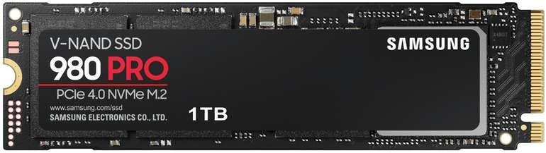 Samsung 980 Pro 1TB M.2 NVMe SSD PCIe 4.0 für 192,40€ (statt 214€)